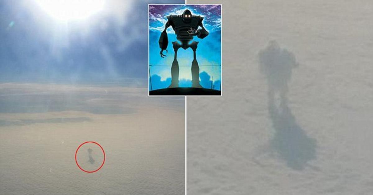 Пассажир самолета сфоткал ″человека″, гуляющего по облакам