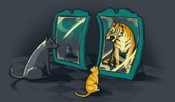 Познай себя. Самый короткий тест на самооценку