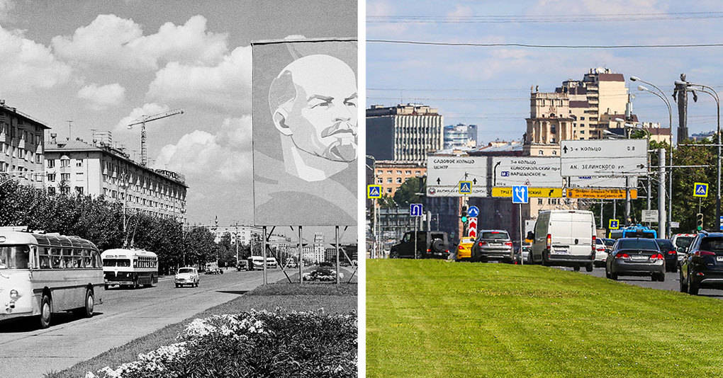 13 фотографий, которые покажут вам, как изменилась Москва за последние несколько десятилетий