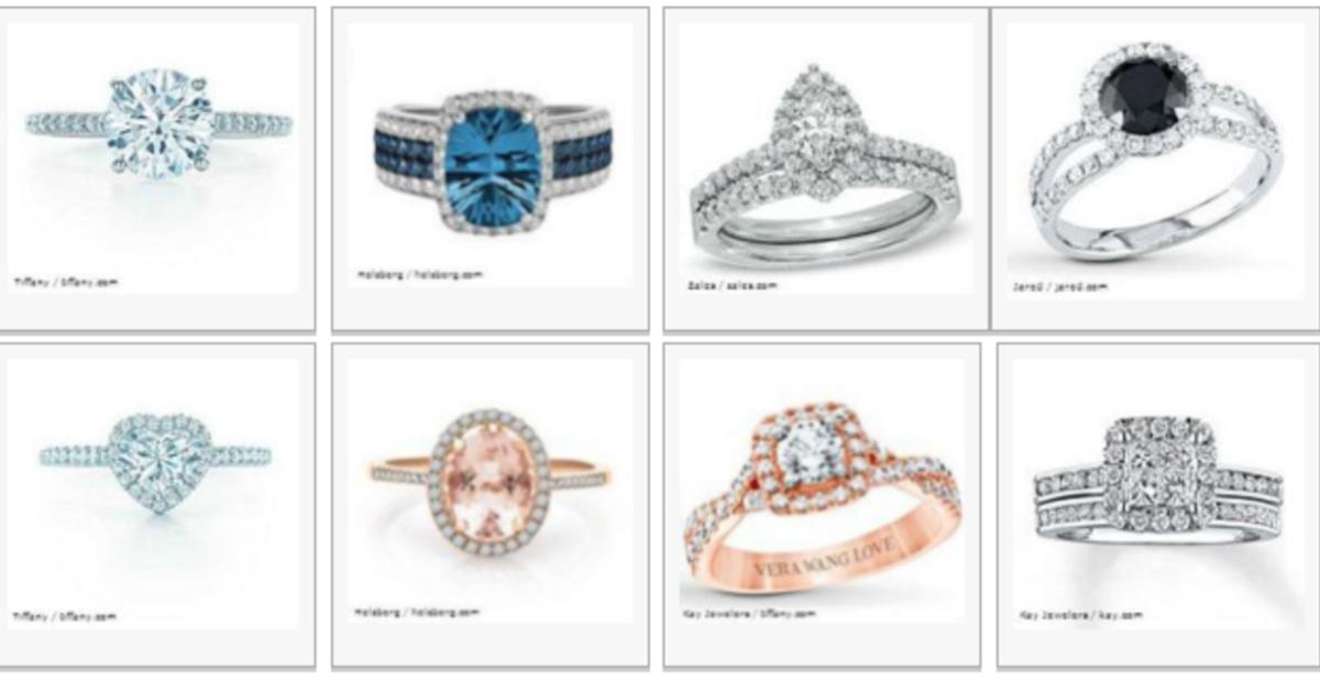 Сможете ли вы догадаться, какое кольцо   самое дорогое?