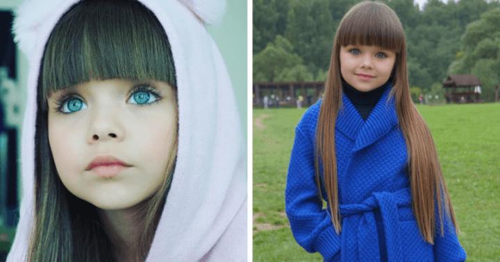 Самая красивая девочка покоряет сердца пользователей Интернет