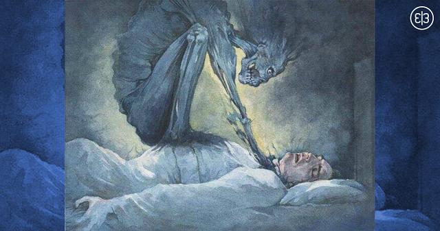 Вы когда нибудь просыпались и не могли пошевелиться? Вот что это значит