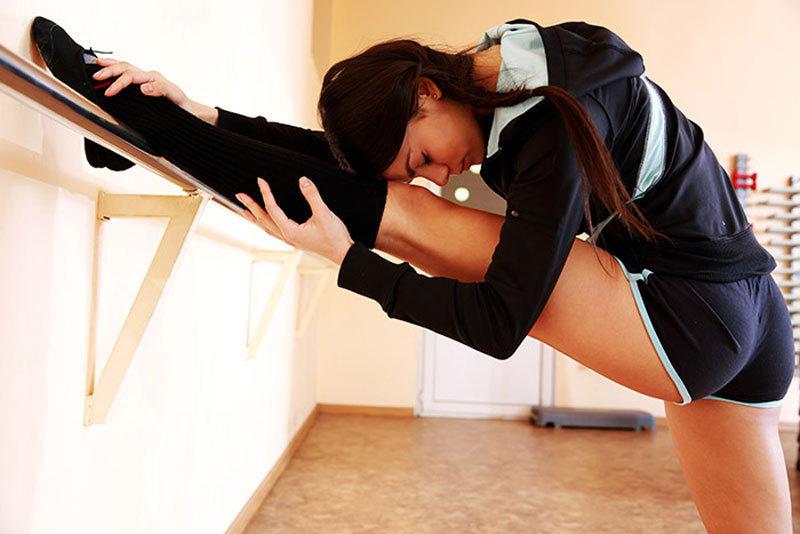 Упражнения балерин для быстрого похудения!