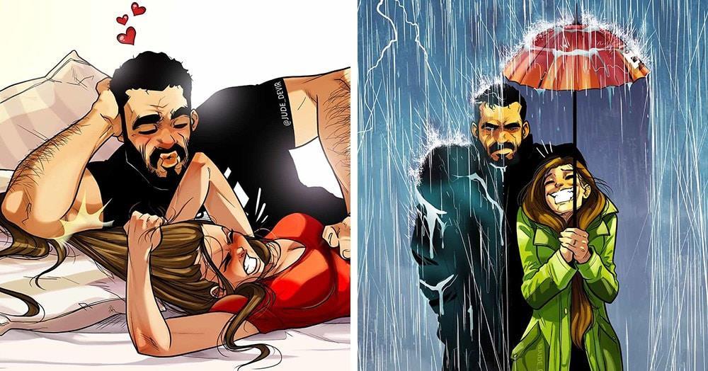 Никто не изображает семейную жизнь лучше этого художника из Израиля. И он продолжает радовать нас комиксами о себе и своей жене