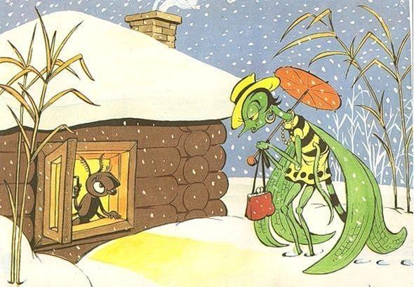 """Сочинение """"Стрекоза и муравей"""" — новый хит интернета!"""