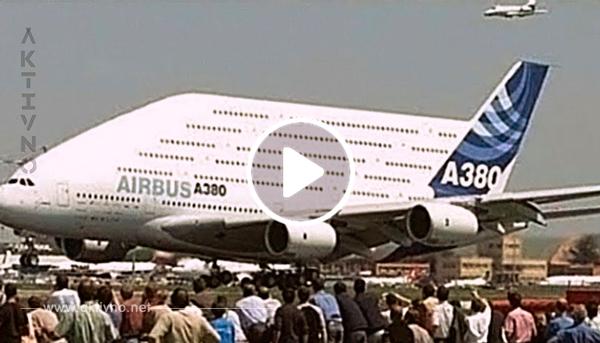 В авиарейс вышел самый огромный пассажирский самолет в мире. Масштабы поражают!