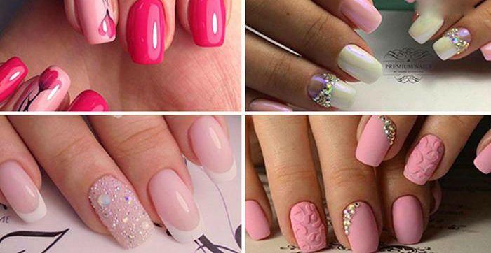 Женственно и элегантно: 50+ модных идей маникюра во всех оттенках розового
