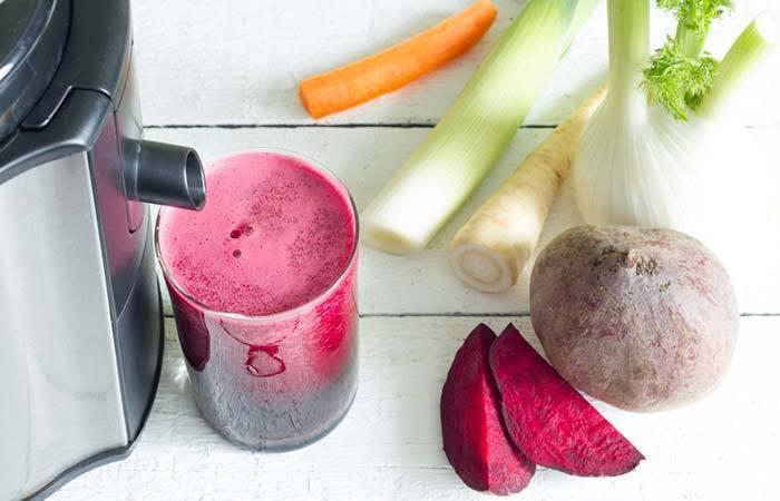 Овощной напиток для улучшения качества крови!