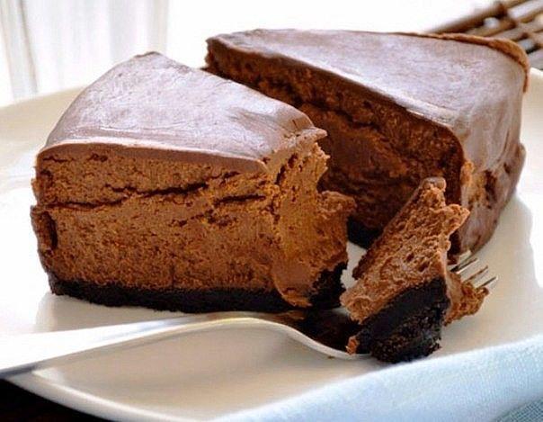 Шоколадный десерт для тех, кто худеет