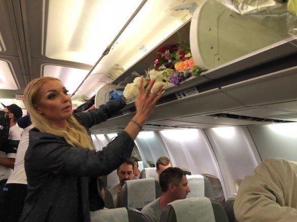 Наглая Волочкова стала главной причиной скандала в самолёте