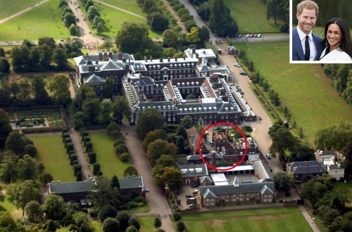 Королевское семейное гнёздышко: вот где поселились Меган Маркл и Принц Гарри после свадьбы