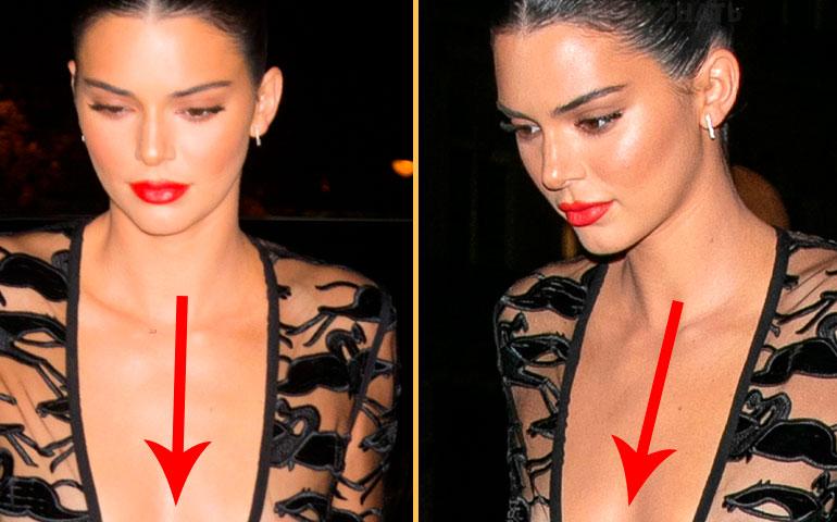 Модель явилась в оперу в «голом платье», которое полностью обнажало ее грудь!