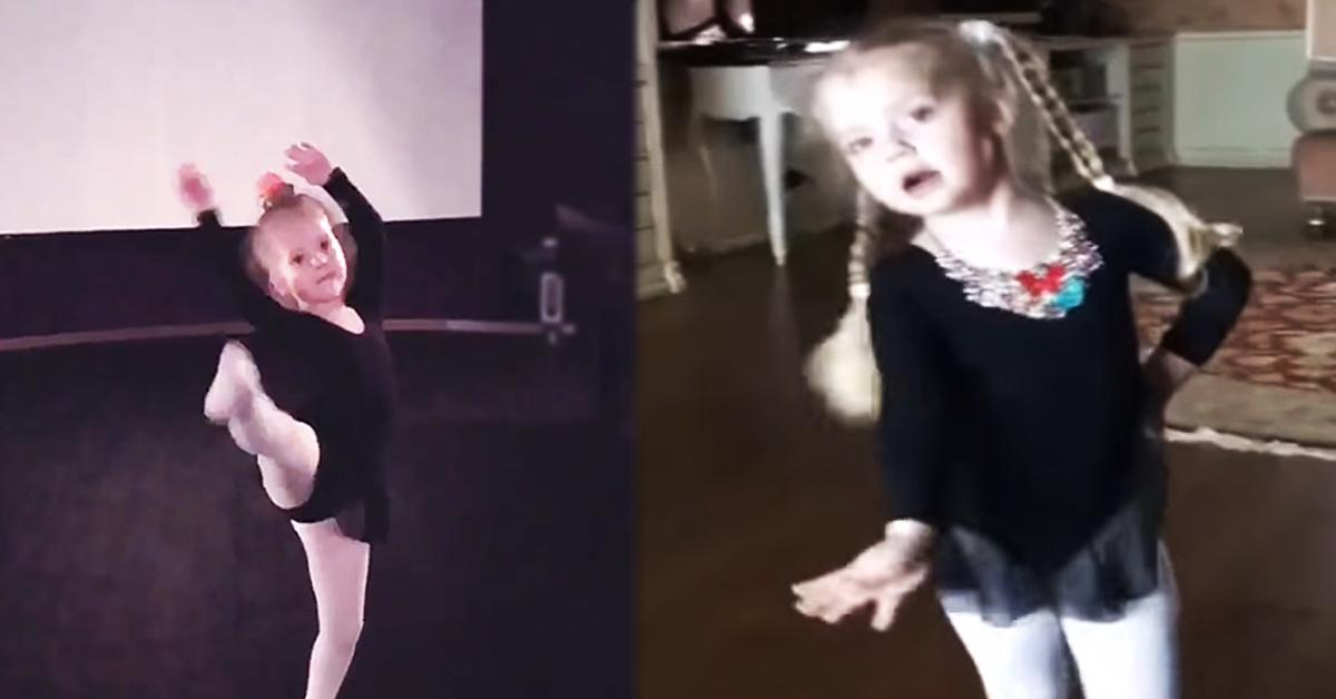 Лиза Галкина исполнила новый танец для своего папы!