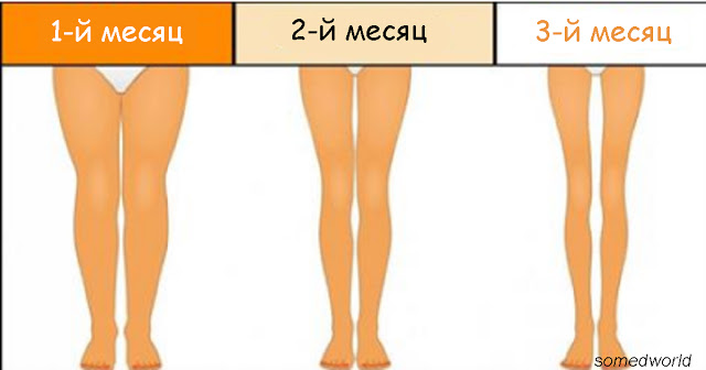 3 минуты перед сном: Простые упражнения, чтобы похудели ноги Главное - регулярность.
