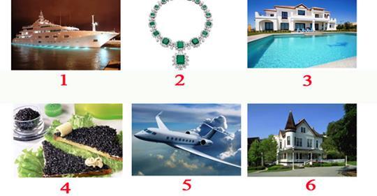 Ваше отношение к роскоши расскажет насколько вы счастливы — выберите картинку