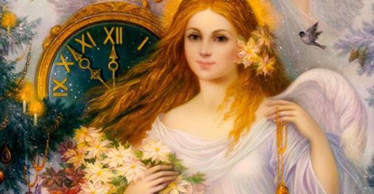 Волшебные часы ангела на декабрь. Вы обязательно будете услышаны