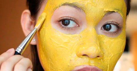 Золотая маска для устранения морщин, коричневых пятен и прыщей!