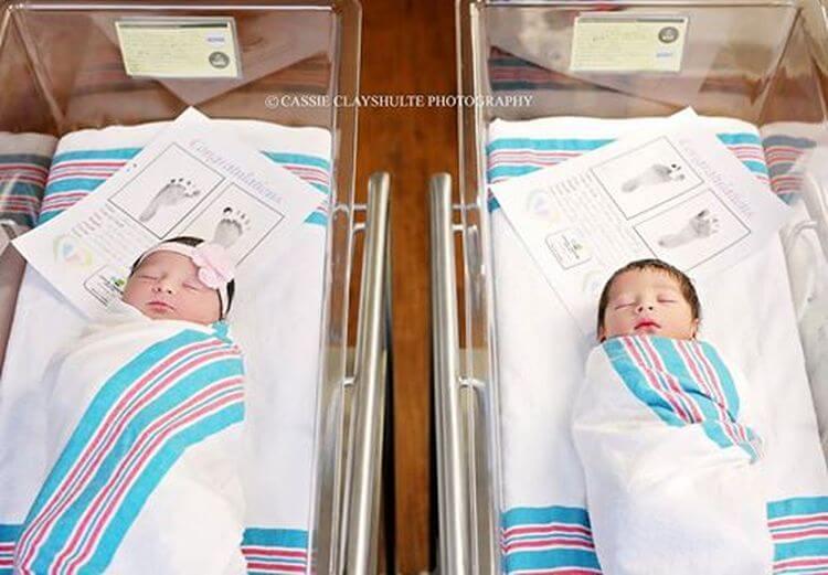 Как судьба связала малышей, родившихся с разницей в 18 часов и от разных родителей