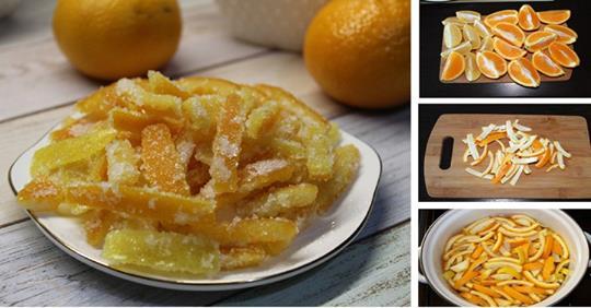 Цукаты из лимонов и апельсинов: пошаговые фото