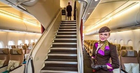 Путешествие на борту самого роскошного самолета в мире