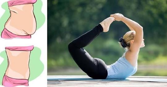 5 простых поз йоги помогут убрать жир с живота!