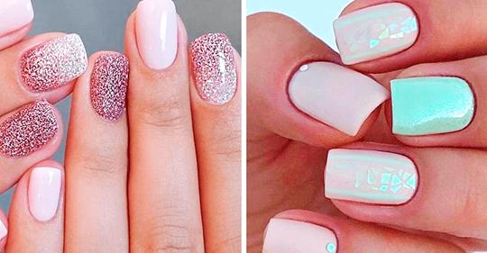 25 идей для коротких ногтей — красивый маникюр на любой вкус