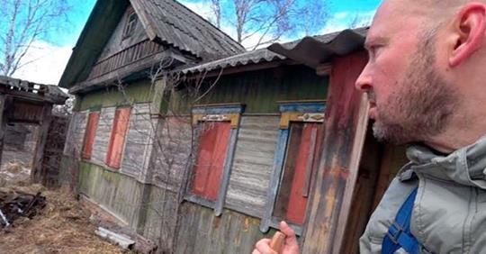 Он пробрался в запретную зону Чернобыля — и нашел там 92-летнюю бабушку с сыном