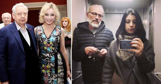 13 Звездных «Пенсионеров» И Их Молодые Жены