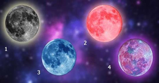 Выбранная луна подскажет чего ожидать в ближайшее время