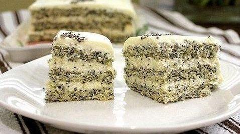 Маково-кокосовый пирог «Блаженство». Для любителей выпечки с маком!