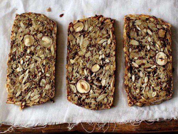 Как приготовить хлеб без муки и дрожжей