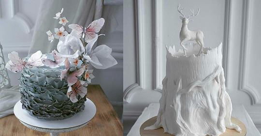 Создание тортов — это настоящее искусство! Шедевры!