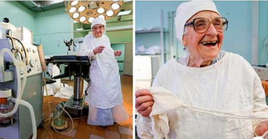 Самый старый практикующий хирург в мире. 91 год и нулевая летальность