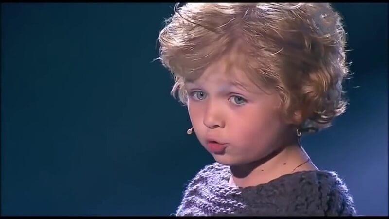 Владимир Высоцкий в исполнении 7-летнего мальчика. До слез!
