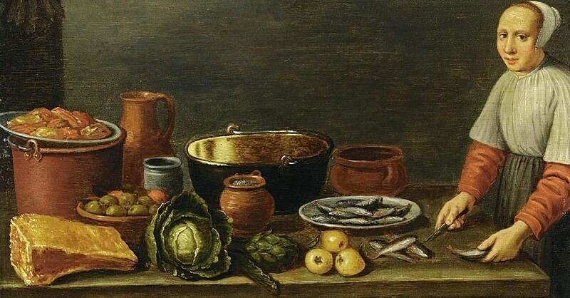 Что ели и пили в средние века. Это поражает воображение