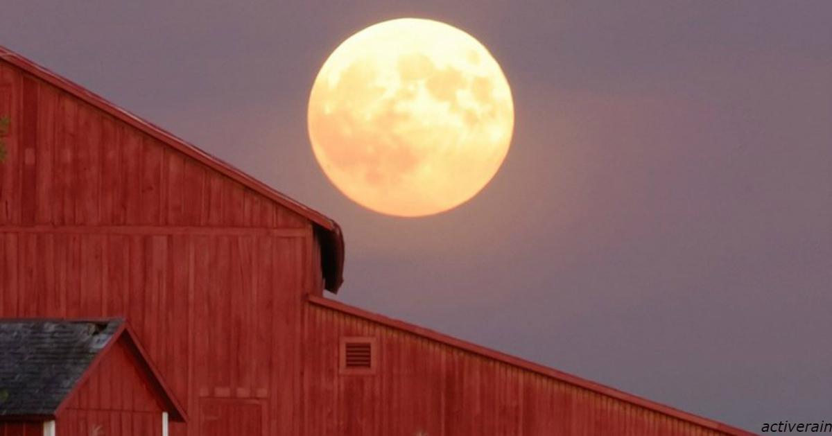 В эту пятницу 13, будет Урожайная Луна   явление, которое не повторится до 2049 года