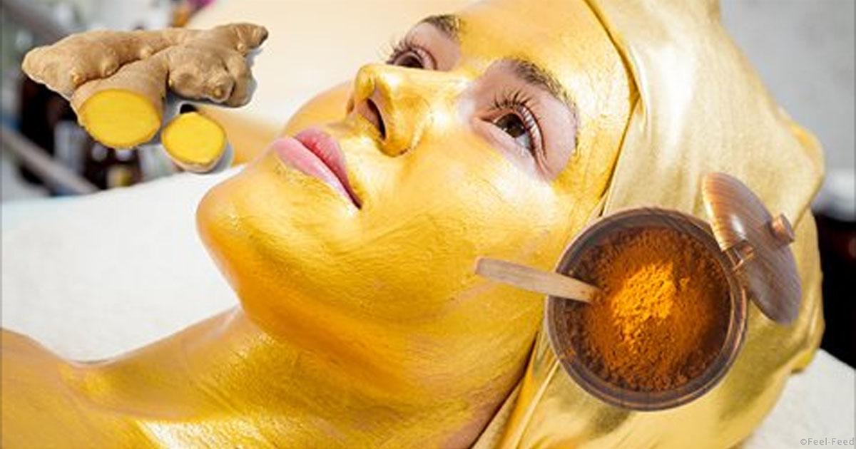 «Золотая» маска уменьшит морщины, осветлит тон кожи и избавит от покраснений
