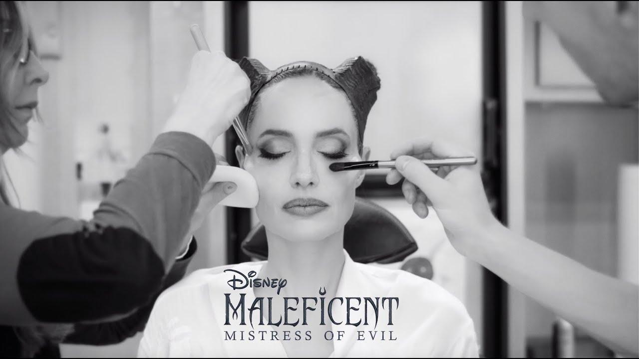 Как Анджелину Джоли превращают в Малефисенту — видео процесса