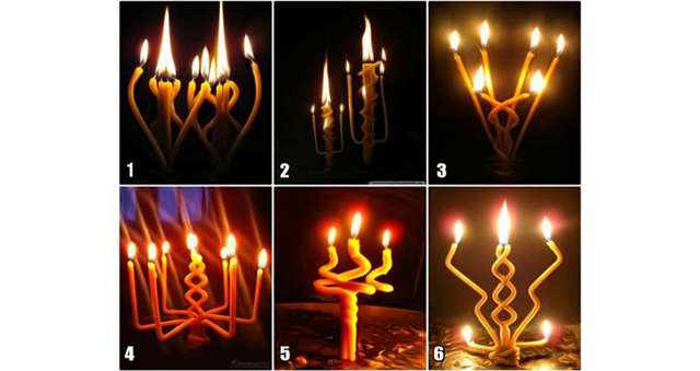 Выбранная гадальная свеча, предскажет какие у вас будут следующие 3 дня