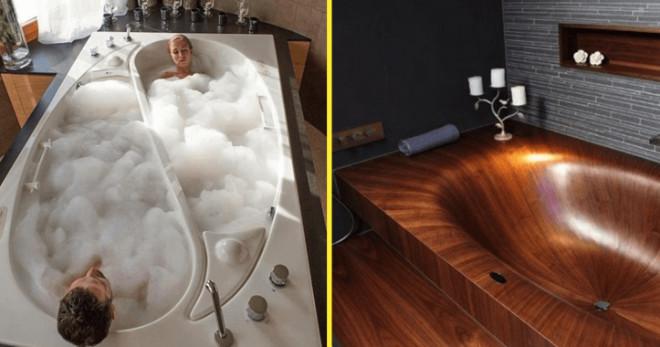 10 ванн, которые смело можно назвать произведением искусства