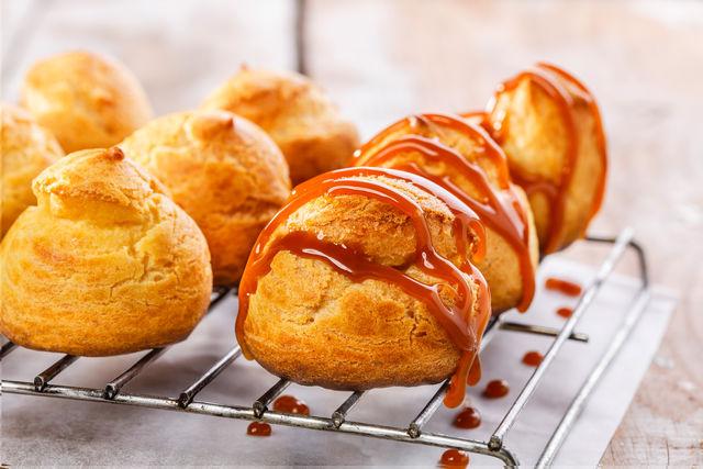 Профитроли: Очень простые и вкусные заварные пирожные