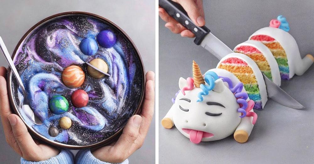 18-летний парень создаёт невероятно красивые веганские десерты, которые хочется съесть глазами