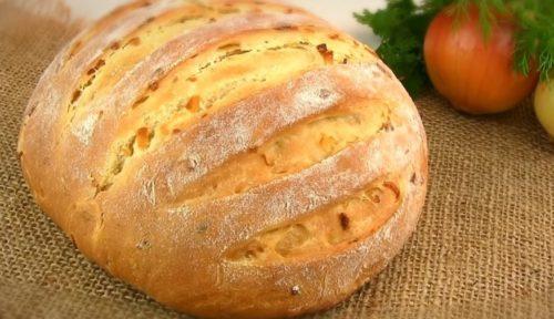 Домашний луковый хлеб: вкуснее вы не пробовали!