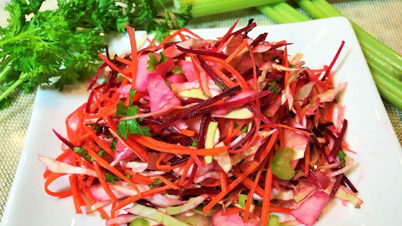 «Щетка» — лучший салат от ненавистных килограммов