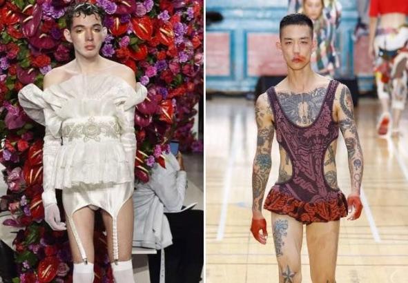Куда катится мир? )) Такое будут носить в следующем году?! )) Мы все обречены…)