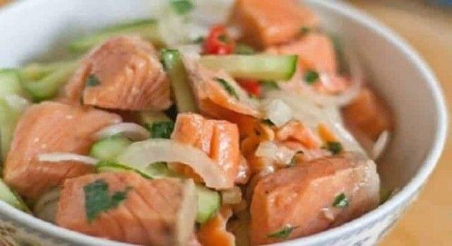 Рыбный салат по-корейски: на Новый год можно себе позволить
