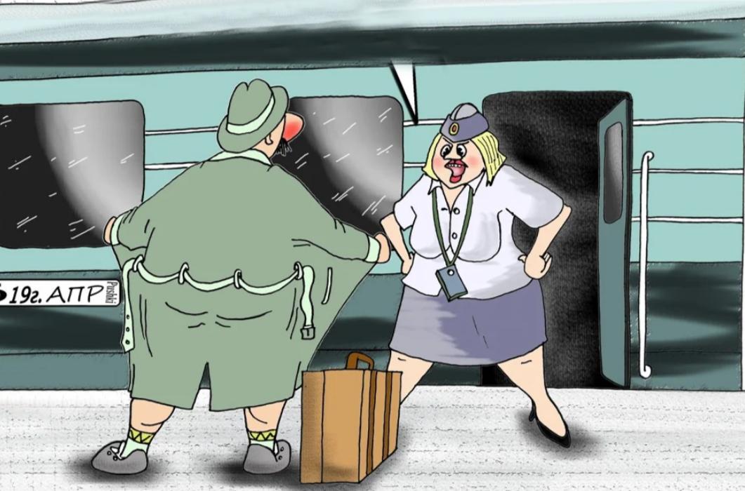 Анекдот: Проводница закрывает дверь купе и шепчет