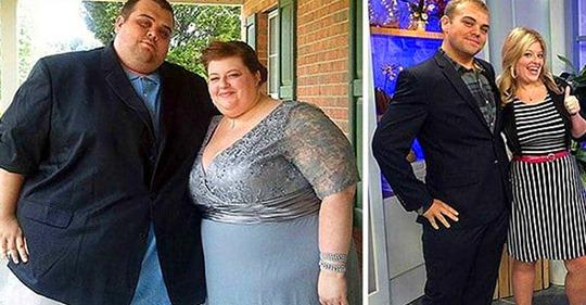 Пара сбросила 224 кг на двоих: подборка удивительных преображений