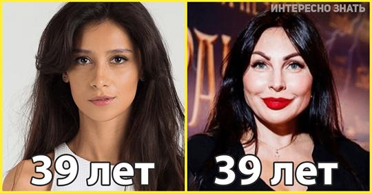 7 российских актрис, которые на самом деле ровесницы, хоть в это сложно поверить