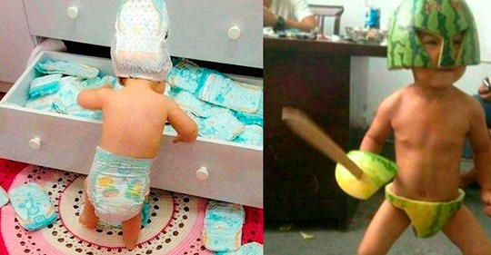 Смешная подборка снимков очаровательных детишек